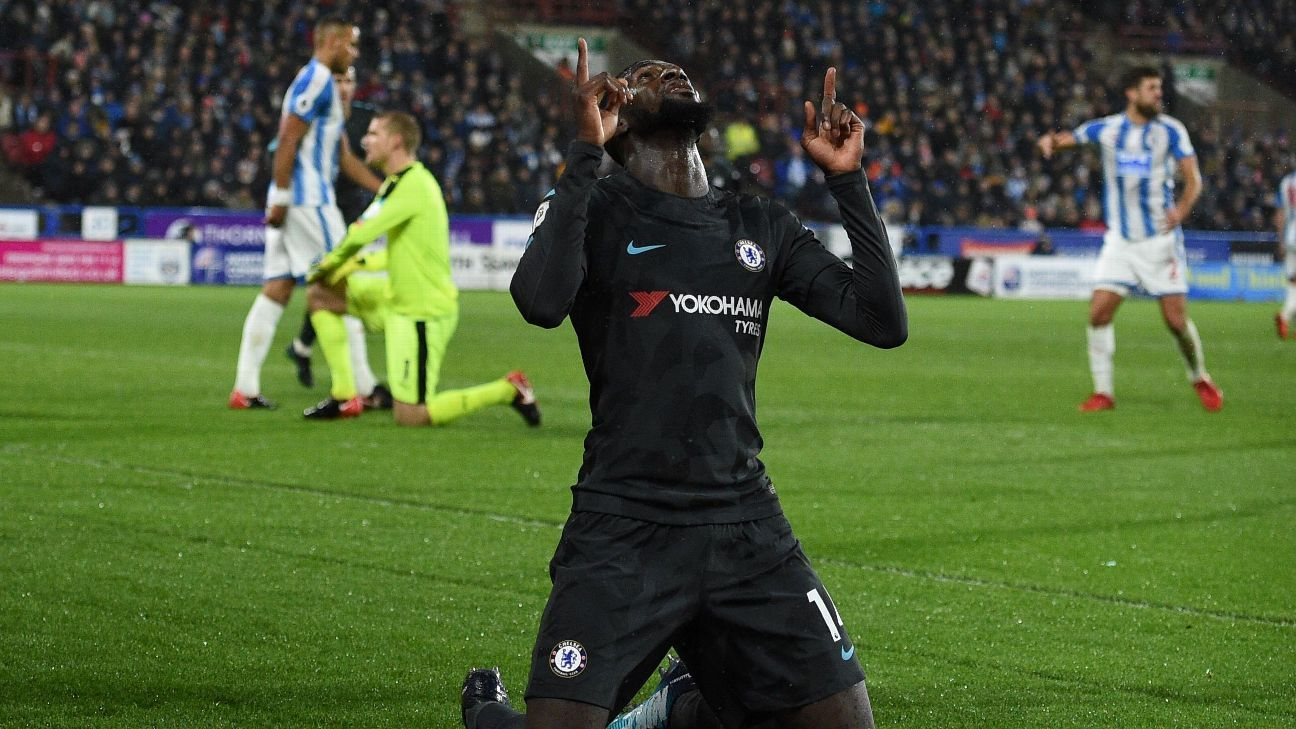 Tiemoue Bakayoko answered criticism from Frank Lampard with a dominant showing.