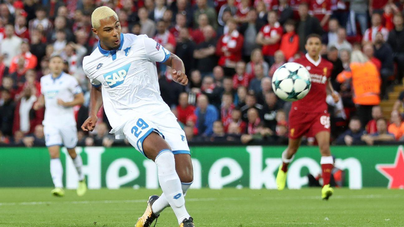 Gnabry action Hoffenheim Liverpool