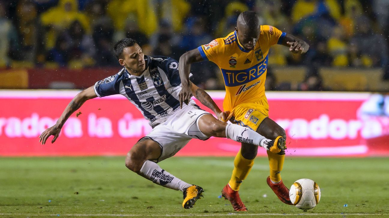Vangioni, left, and Valencia both made it given their consistent excellence down the flanks for Monterrey and Tigres respectively.
