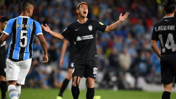 Keisuke Honda and Pachuca had hoped to go further in the Club World Cup. Now, they need a Copa MX win.