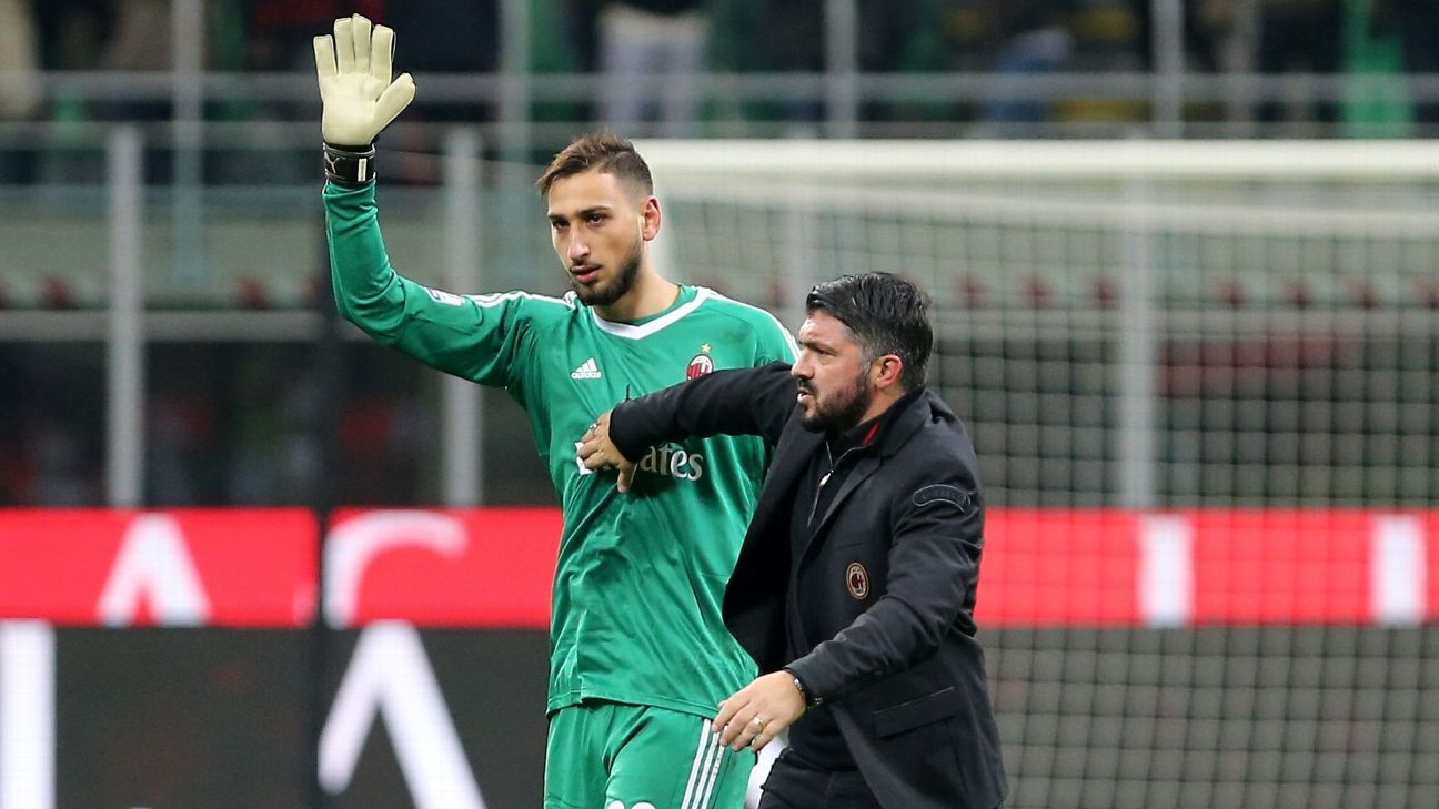 Gianluigi Donnarumma and his long-term future at Milan has come back to forefront.