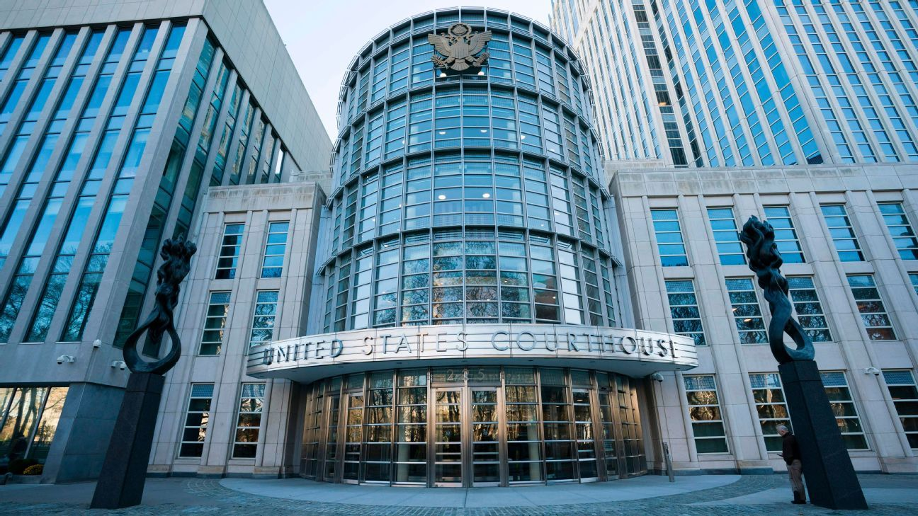 The Federal Courthouse in Brooklyn, New York, where the FIFA bribery trial is taking place