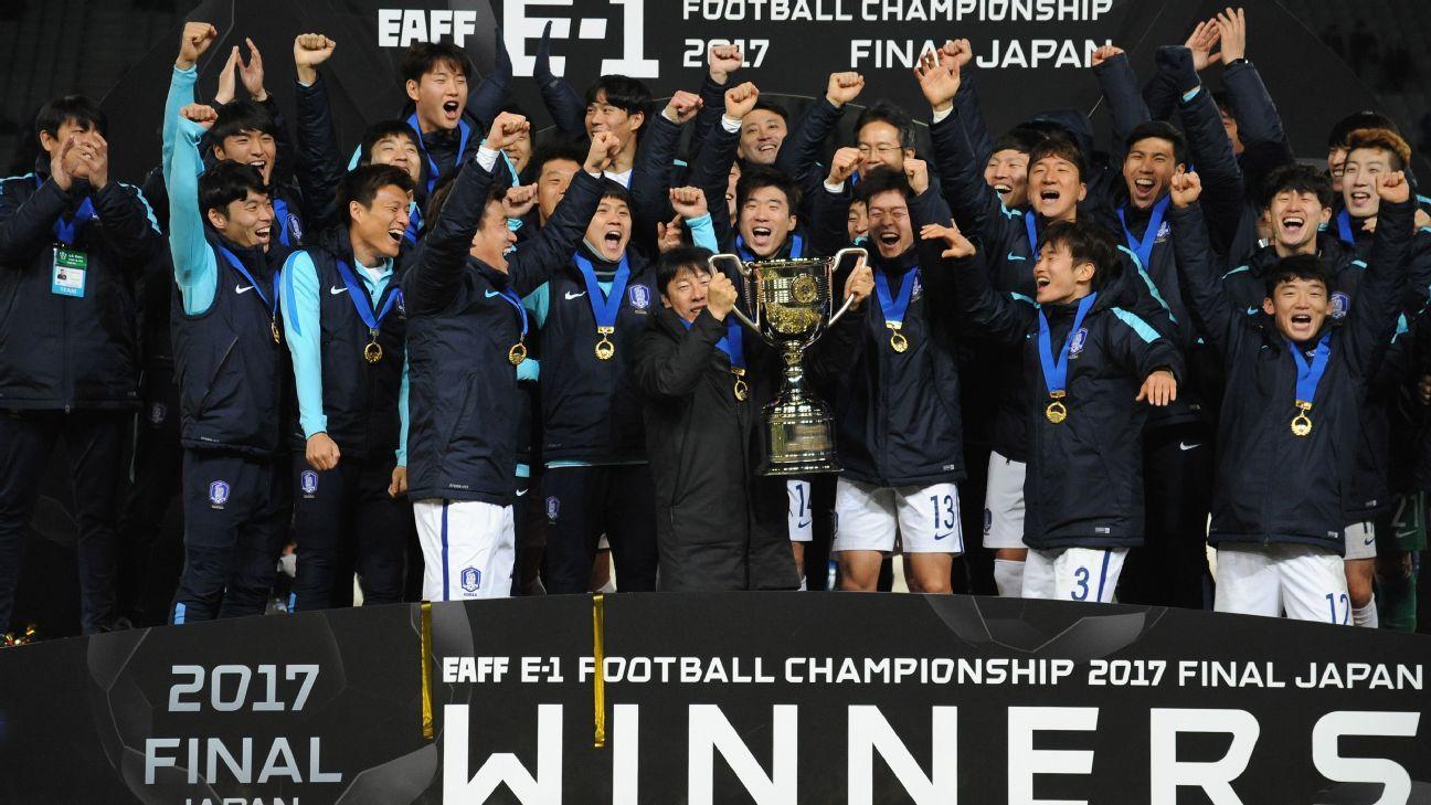 South Korea thrash South Korea in Tokyo to win East Asian title