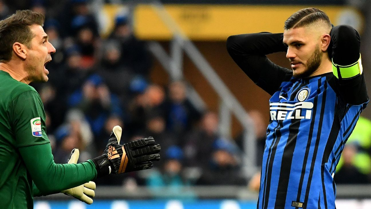 Inter Milan lose first game of season as Udinese hammer Serie A leaders