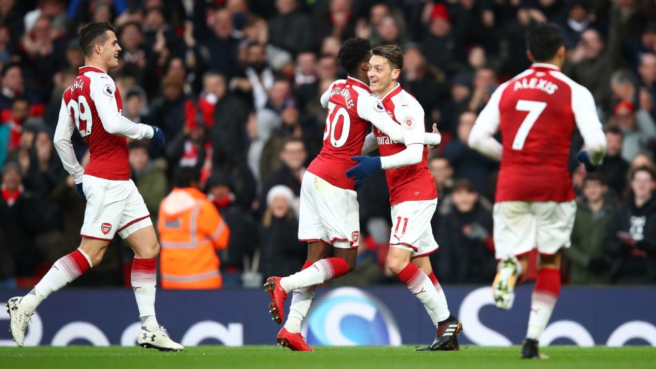 Mesut Ozil's wonder goal was the difference for Arsenal at the Emirates