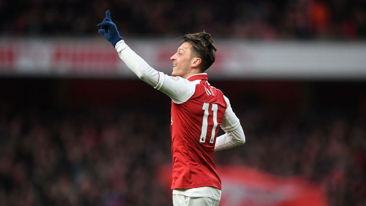 Mesut Ozil's wonder goal was the difference for Arsenal against Newcastle.
