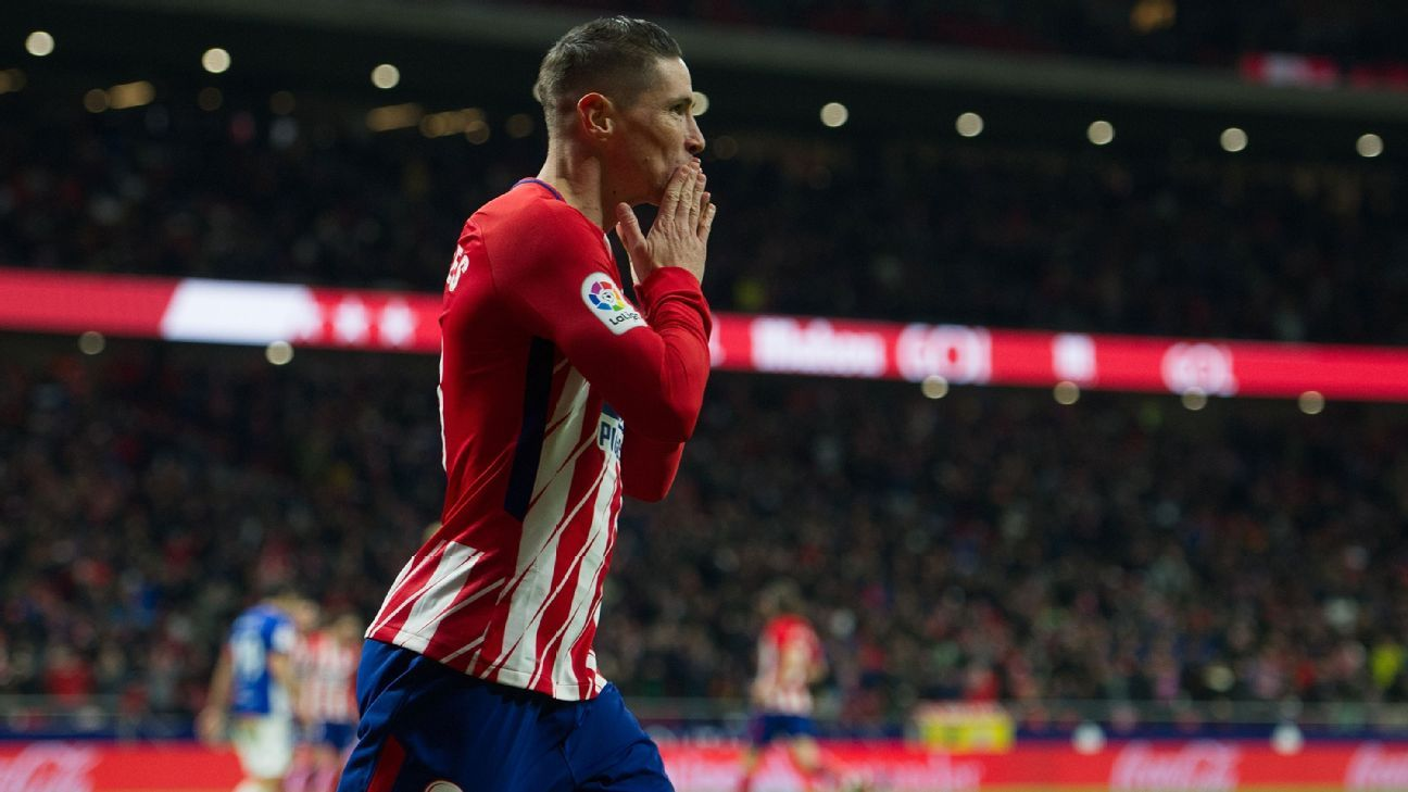 Fernando Torres picked an opportune time to get off the mark in the league for Atletico.