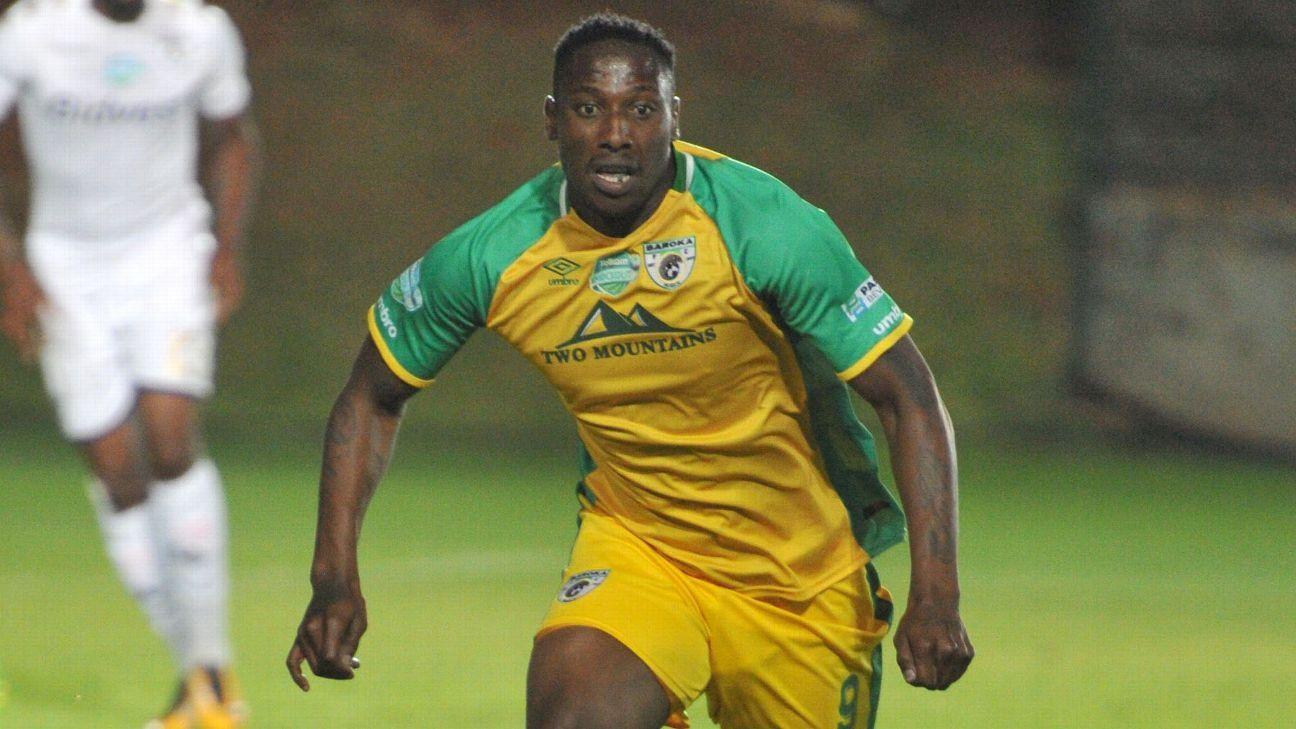 Lucky Nguzana of Baroka FC