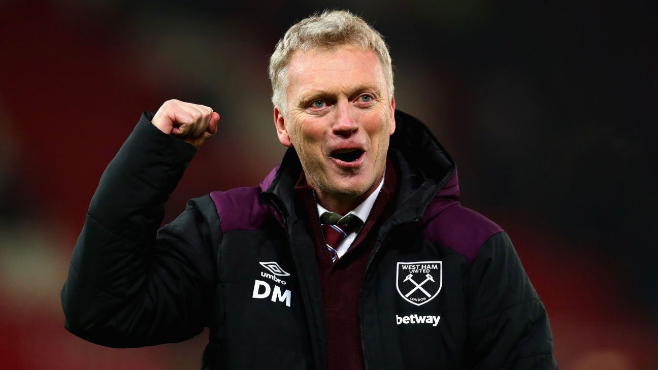 Moyes has endured some difficult seasons but is certainly helping West Ham dig out from the bottom three.