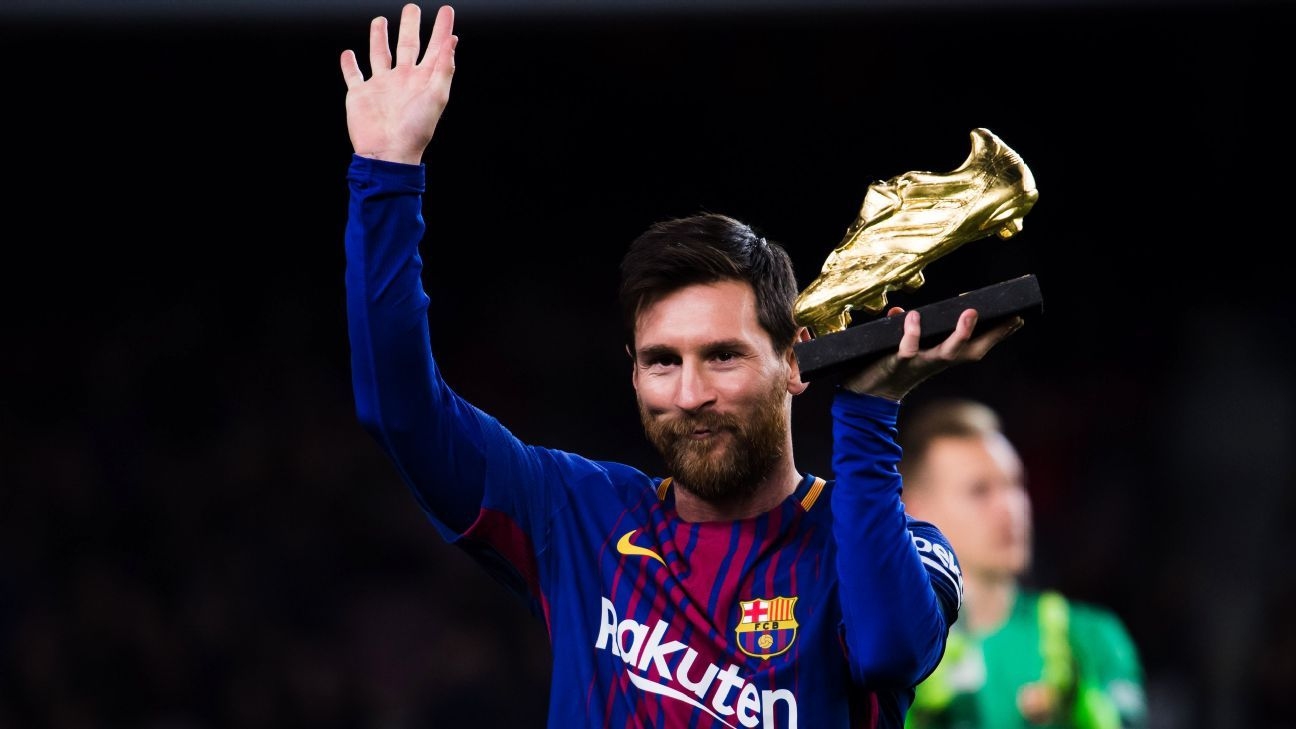 Messi Golden Boot 171217