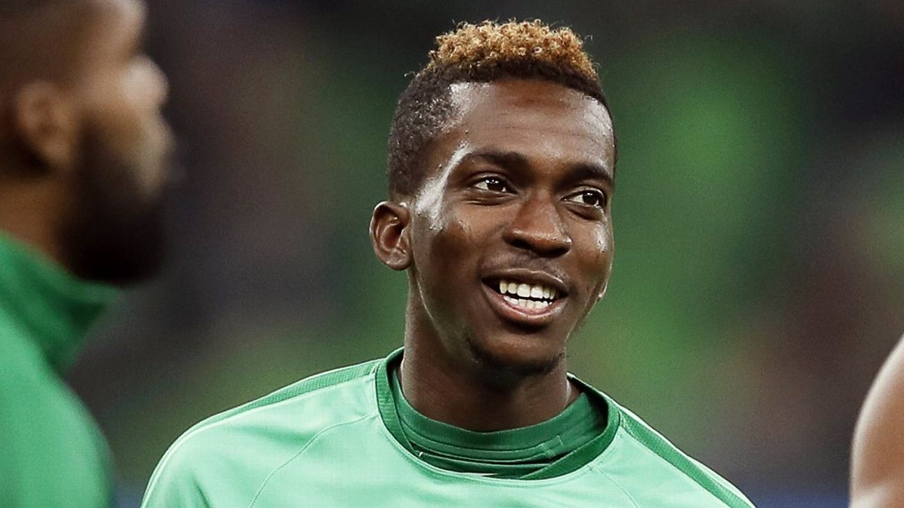 Henry Onyekuru is back in the Nigeria squad