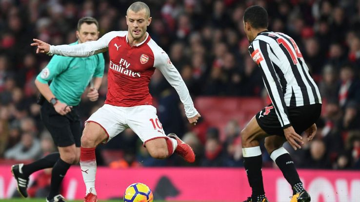Wilshere's fitness and recent form make him an intriguing free agent this coming summer.