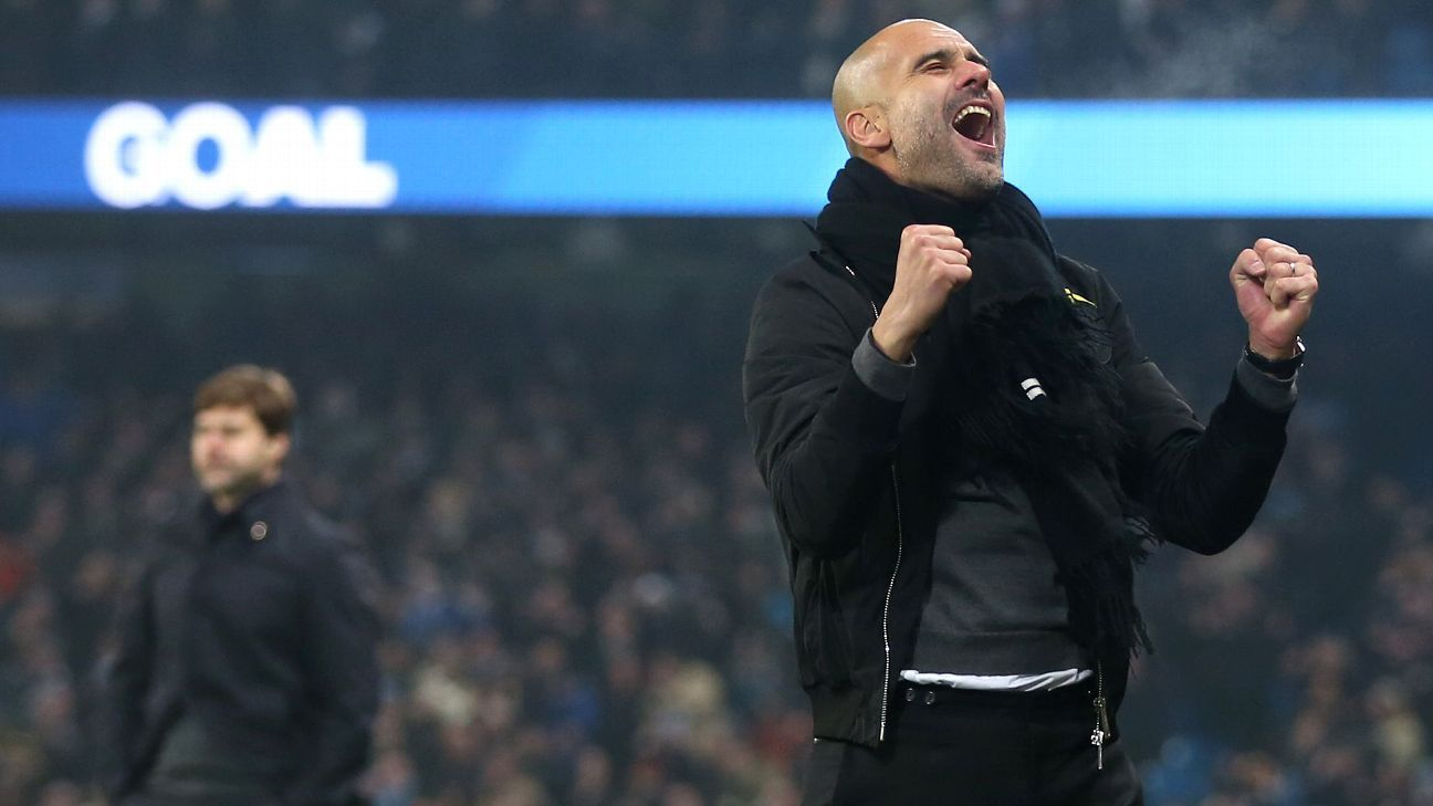Pep Guardiola's side look like champions but it means nothing until they actually win the title.