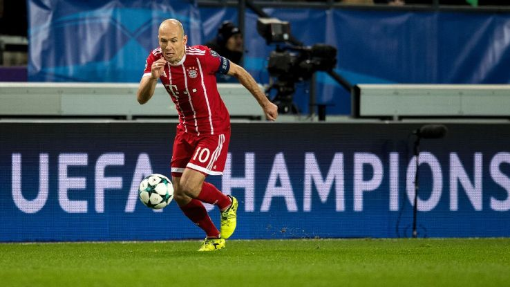 Robben is still a superb player at 34 but will he continue to dazzle for Bayern or take his skill elsewhere?