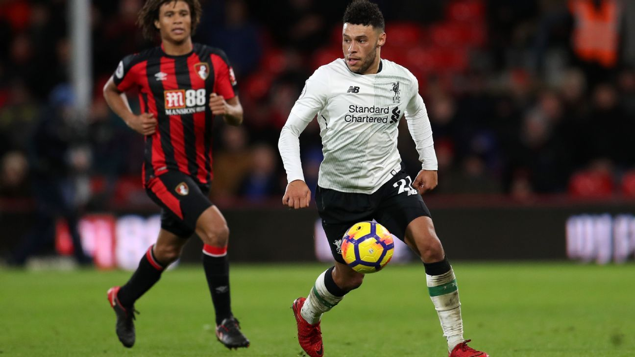 Oxlade-Chamberlain looks at ease with Liverpool's style of play but is also showing leadership off the pitch.