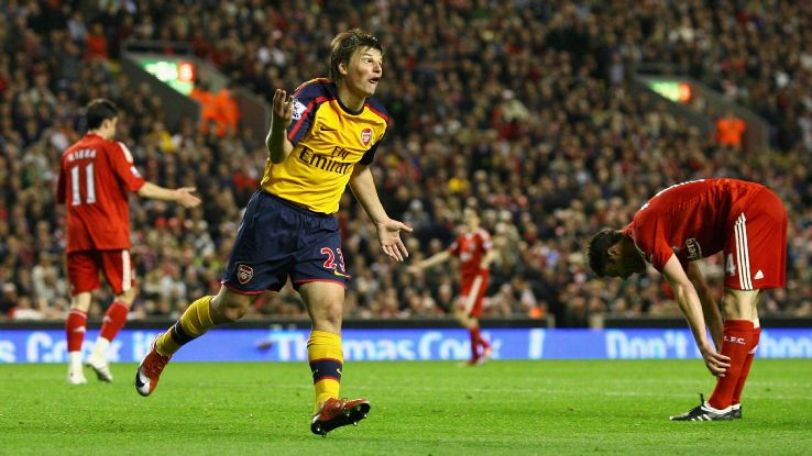 Arsenal have played spoiler for Liverpool in recent seasons, like Arshavin's four-goal haul in a 2009 draw.