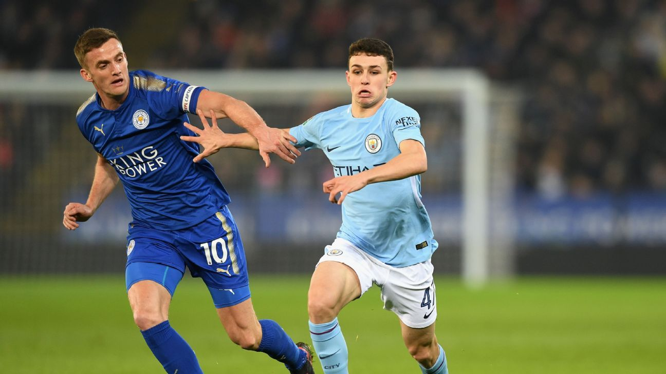 Phil Foden was one of the youngsters given a chance Tuesday in the Carabao Cup.
