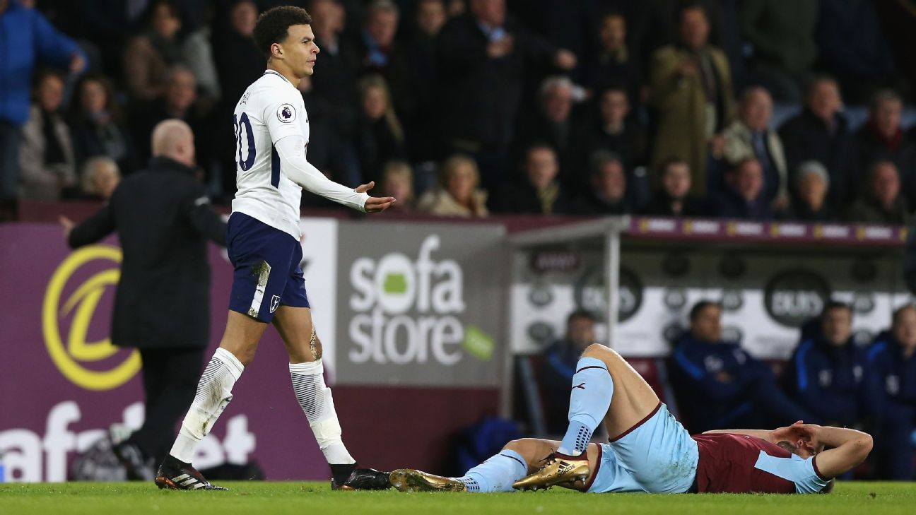 Dele Alli was at the centre of the action again for Spurs both good and bad.