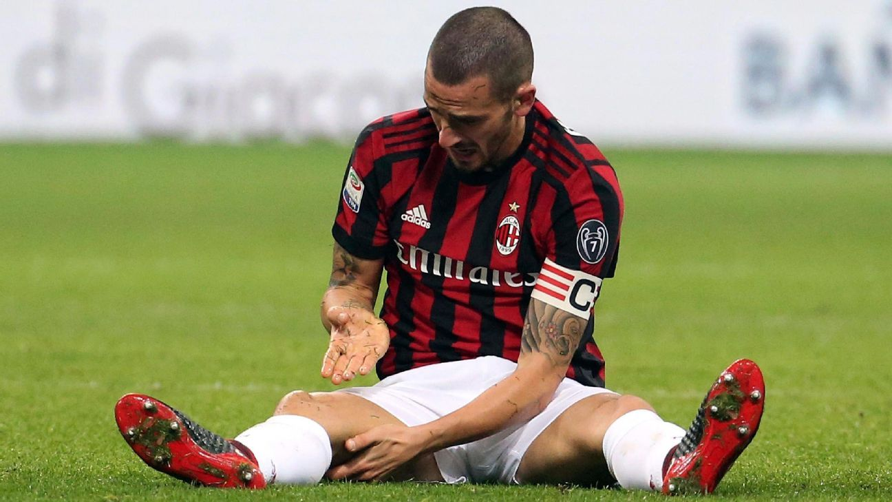 Leonardo Bonucci has been unable to mimic his form at Juventus.
