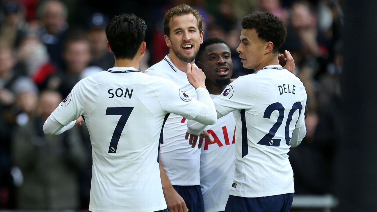 Harry Kane was sensational as Tottenham's front four dominated Southampton for a big Boxing Day win.