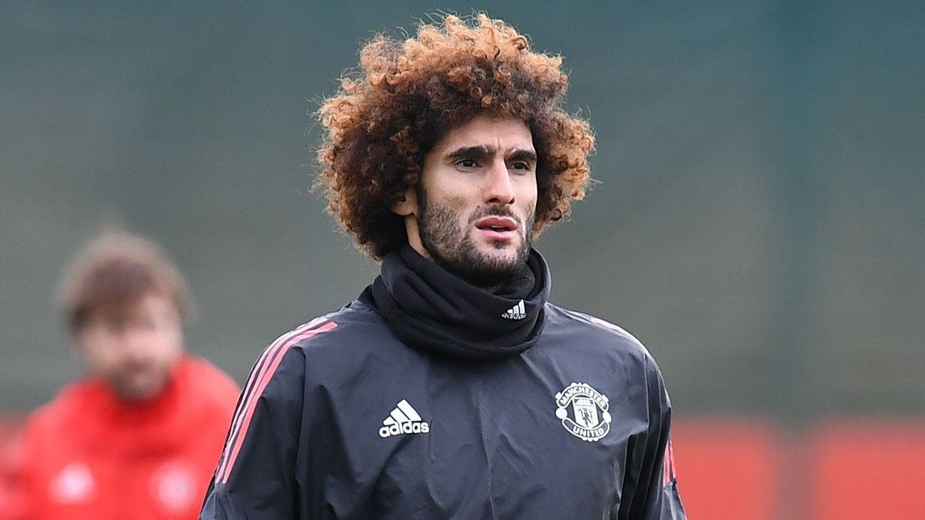 Marouane Fellaini was the first player signed by Manchester United after Sir Alex Ferguson retired.