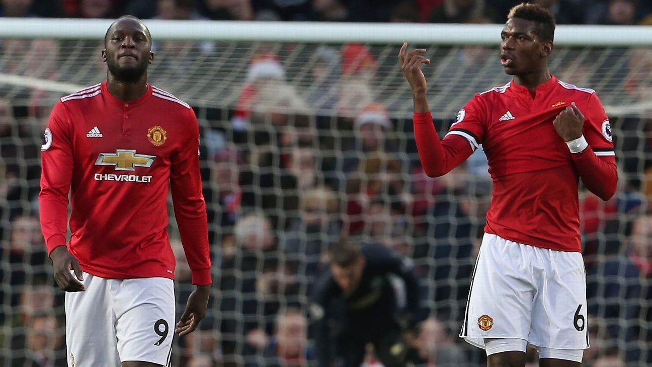 Lukaku and Pogba both struggled to lead United on Boxing Day, something that speaks to the team's current dysfunction.
