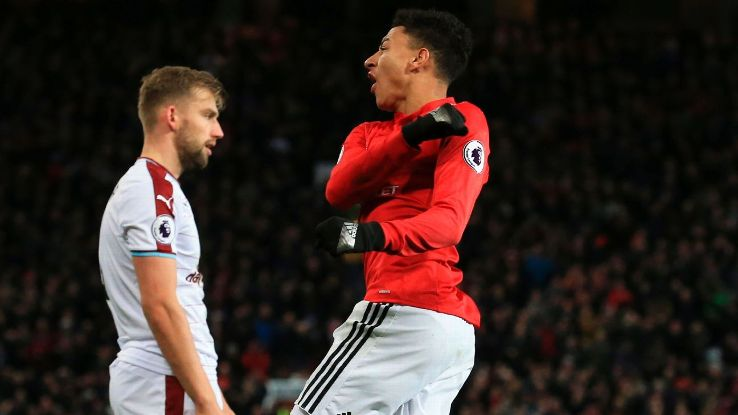 Jesse Lingard made his presence known at Old Trafford, scoring both United goals as they fought for a draw.