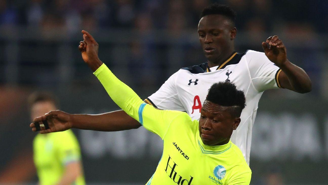 Samuel Kalu of Gent, Victor Wanyama of Tottenham Hotspur