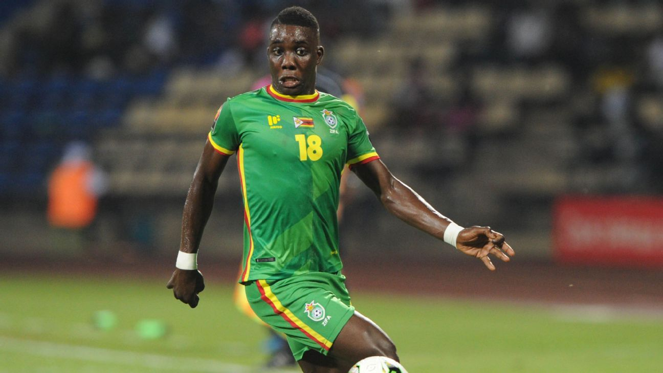 Marvelous Nakamba has earned a recall to the Zimbabwean squad to face the Democratic Republic of Congo.
