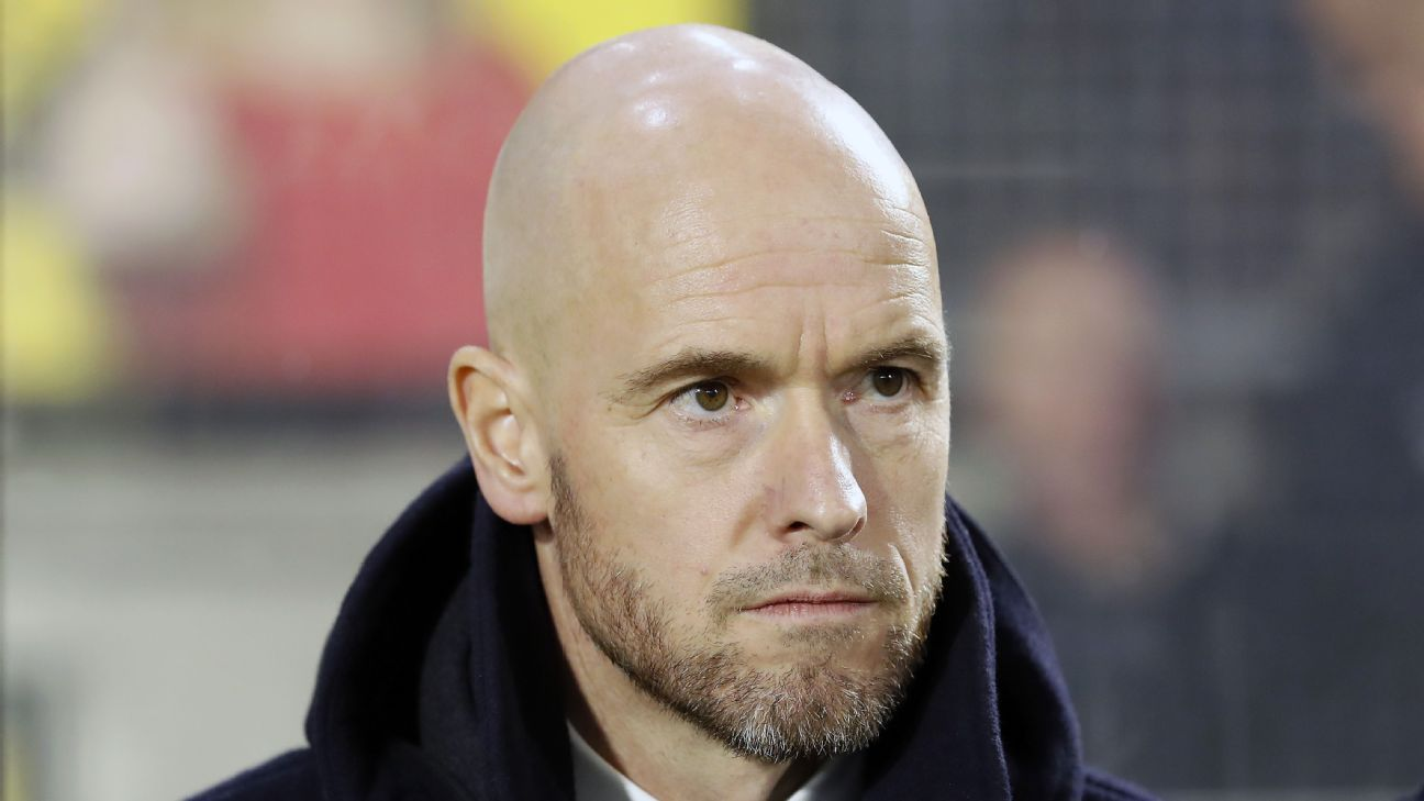 Erik ten Hag had been in charge of Utrecht since 2015.