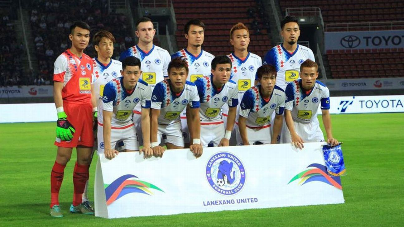 Laos club Lanexang United, who are nicknamed The Power of a Million Elephants