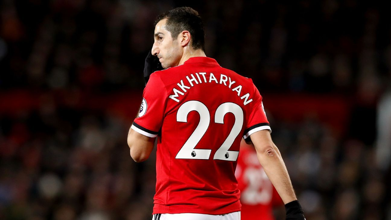 Henrikh Mkhitaryan failed to take his chance in a rare start for Man United.