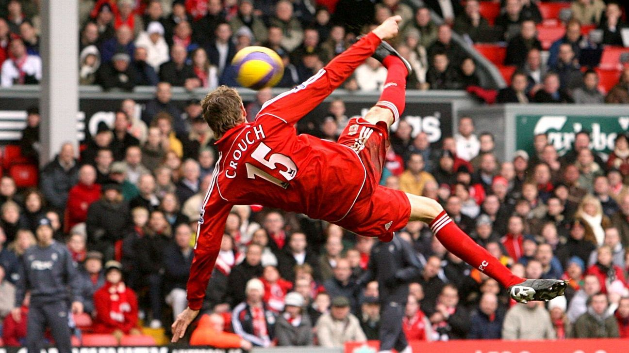 Peter Crouch got 2007 off to a spectacular start with his overhead kick against Bolton