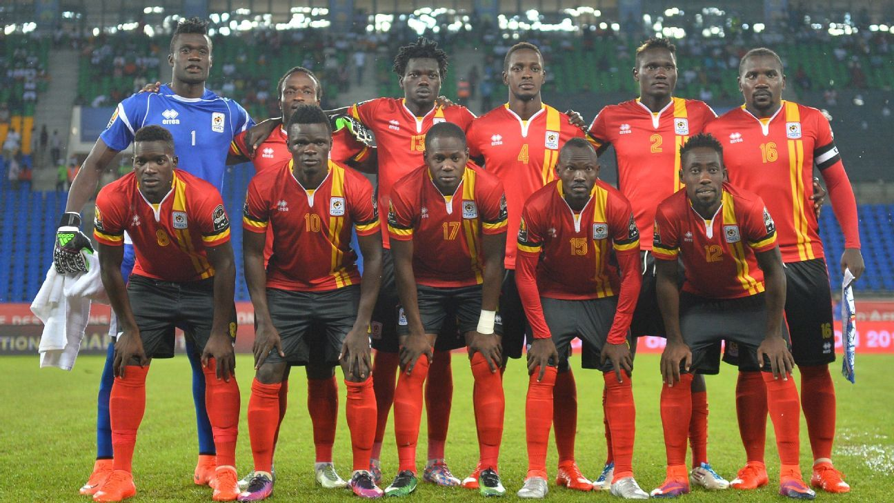 Uganda at Afcon 2017