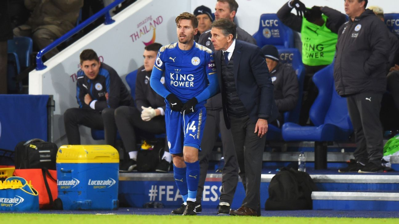 Adrien Silva Leicester debut sidelines 180101