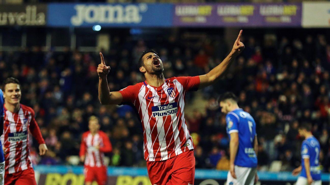 Diego Costa made a dream return to Atletico Madrid.