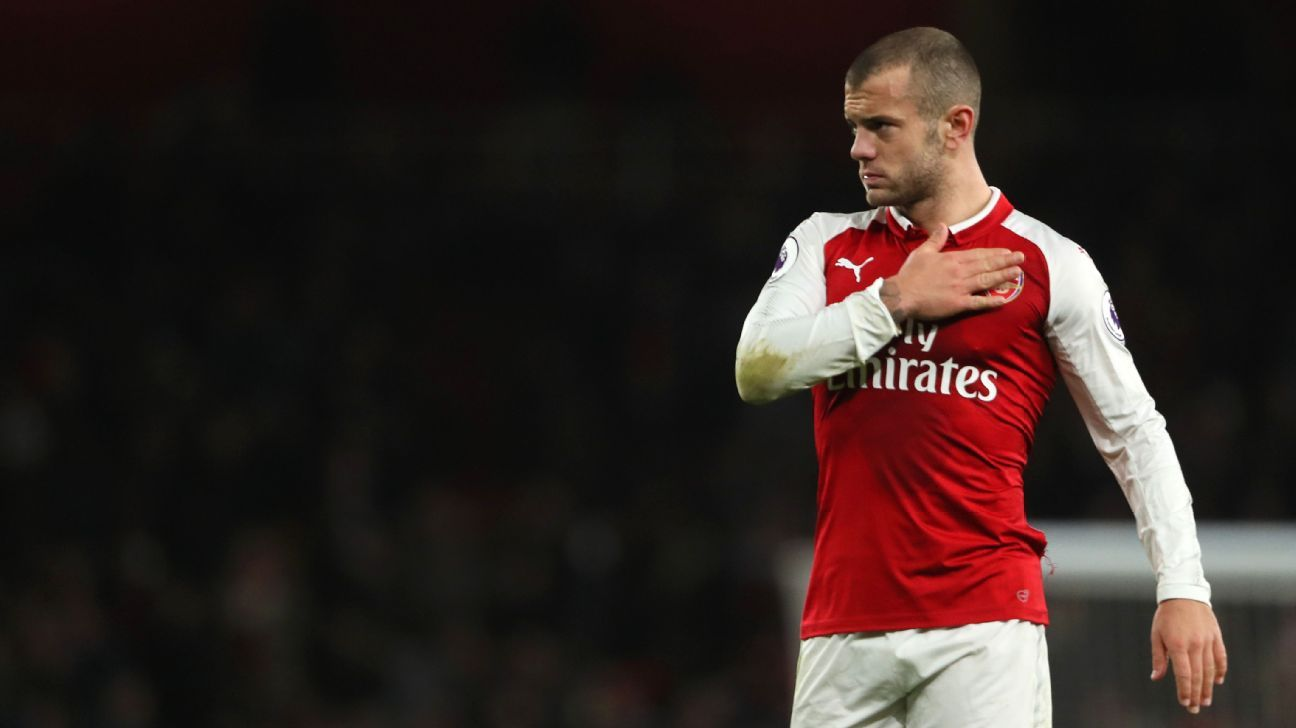 Jack Wilshere is now a free agent after his contract expired.