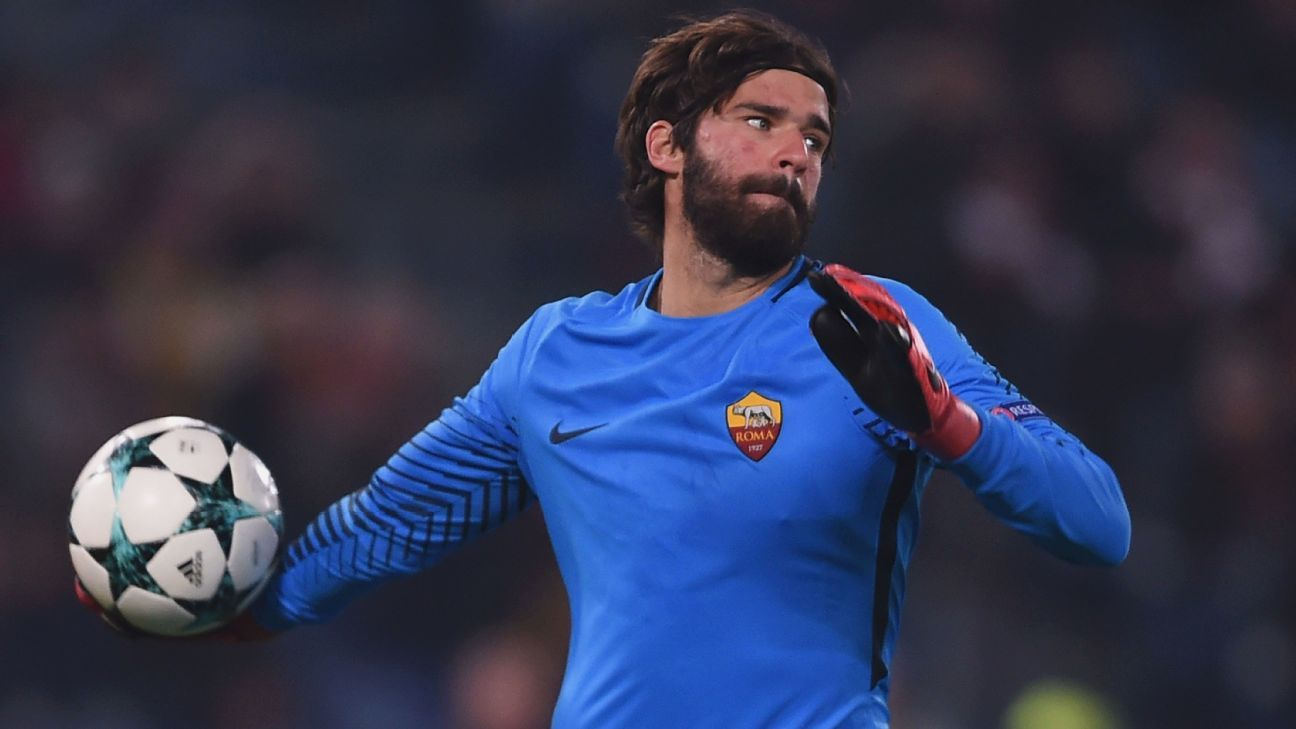 Alisson joined Roma from Internacional in 2016.