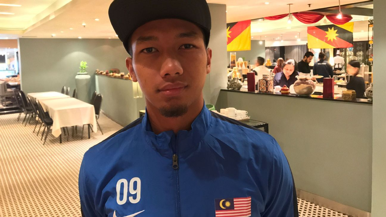 JDT and Malaysia defender Adam Nor Azlin