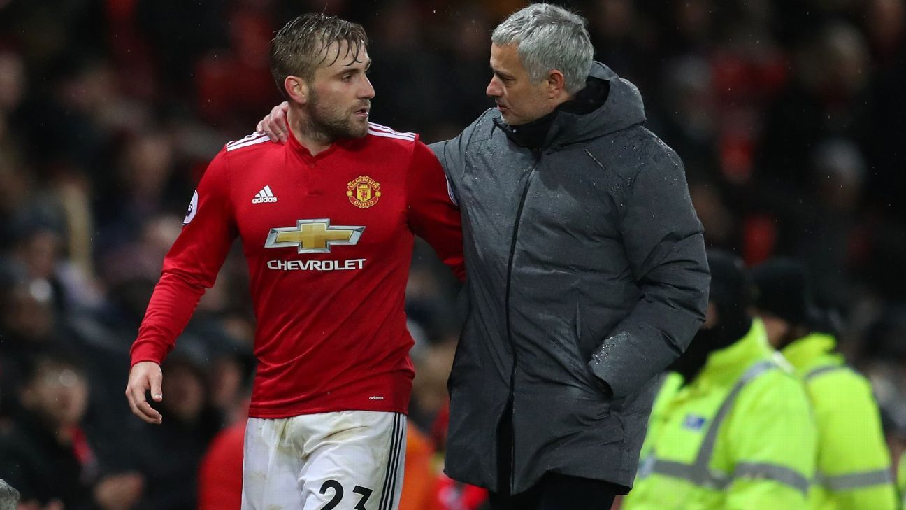 Luke Shaw has endured an uneasy relationship with Jose Mourinho at Manchester United.