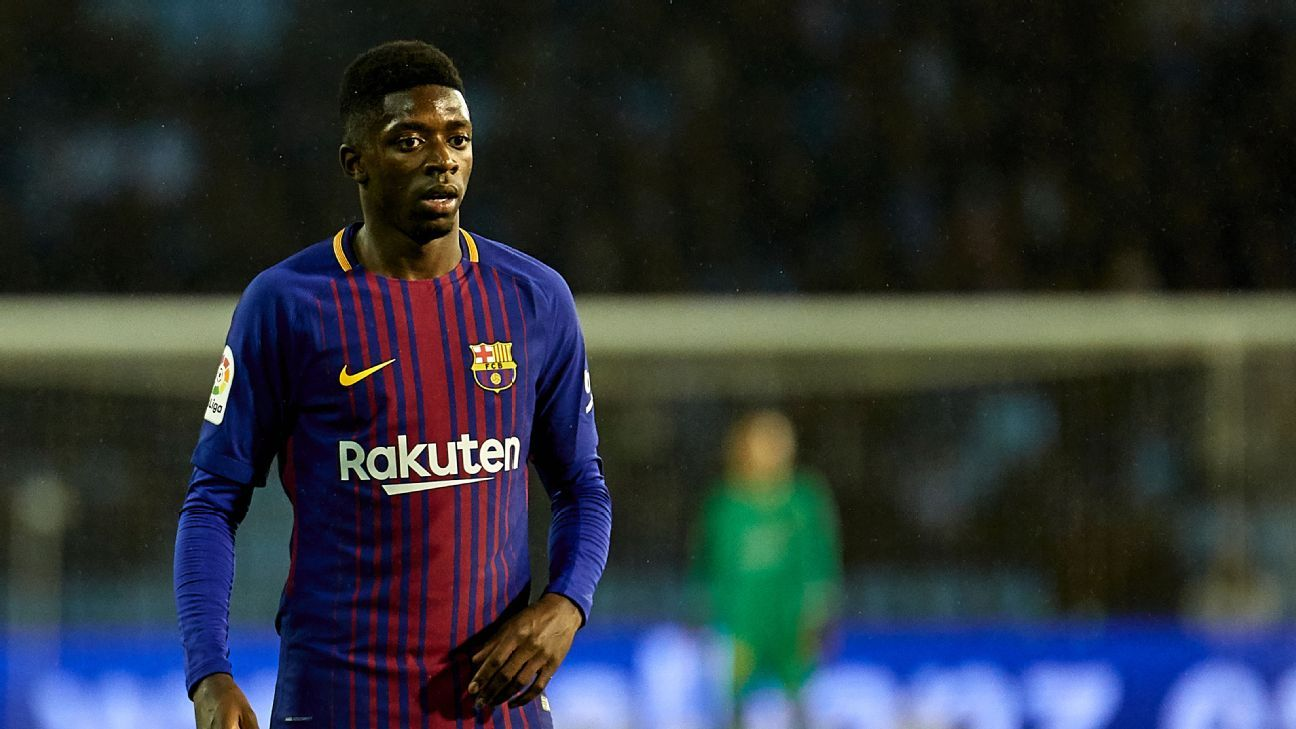 Ousmane Dembele made his return from injury after four months on the sidelines.