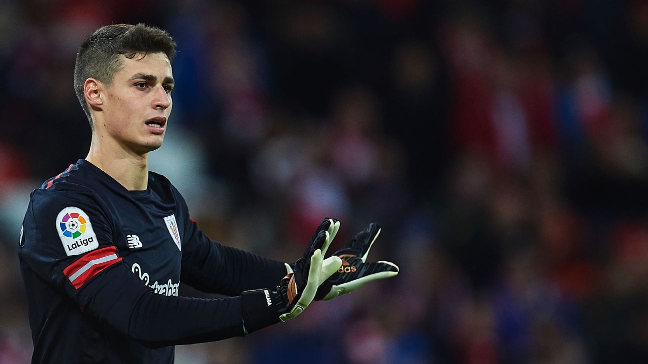 Kepa Arrizabalaga has an €80 million buyout clause.