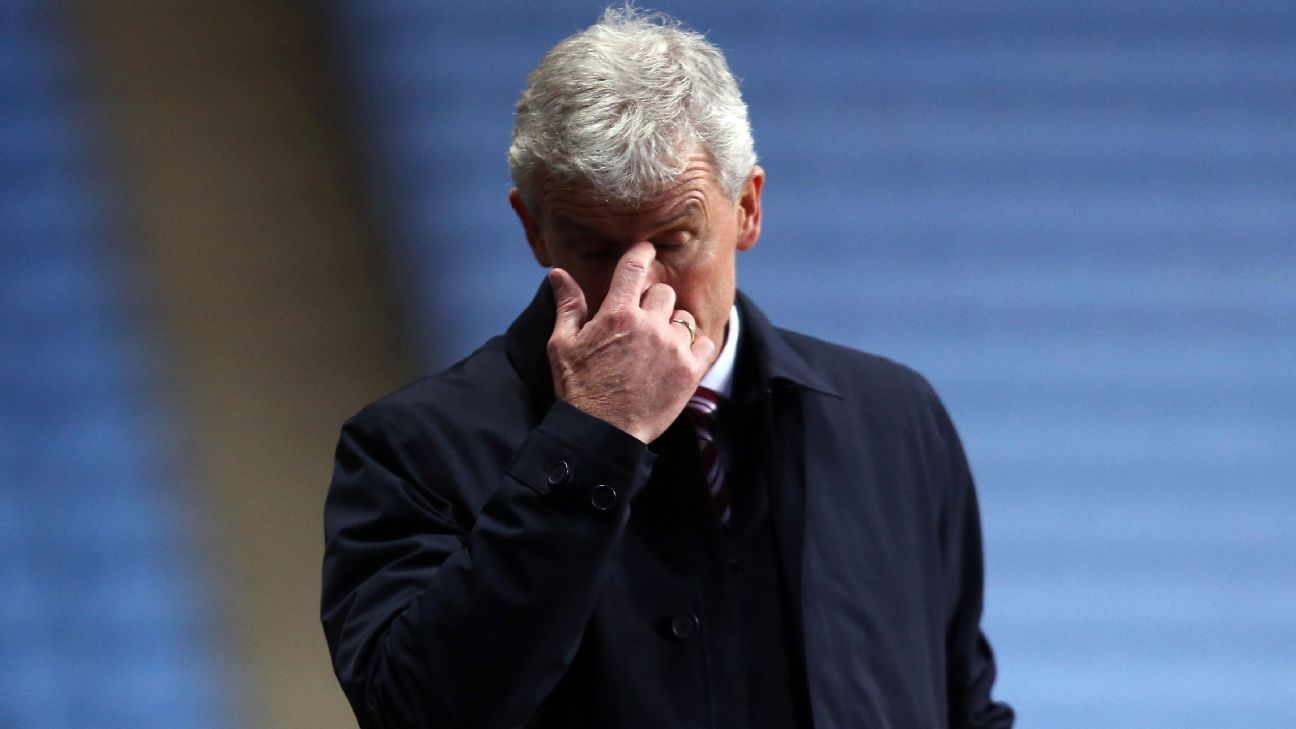 Mark Hughes did not survive Stoke's FA Cup loss to Coventry City.