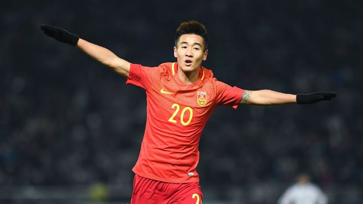 Wei Shihao scores for China in 2017