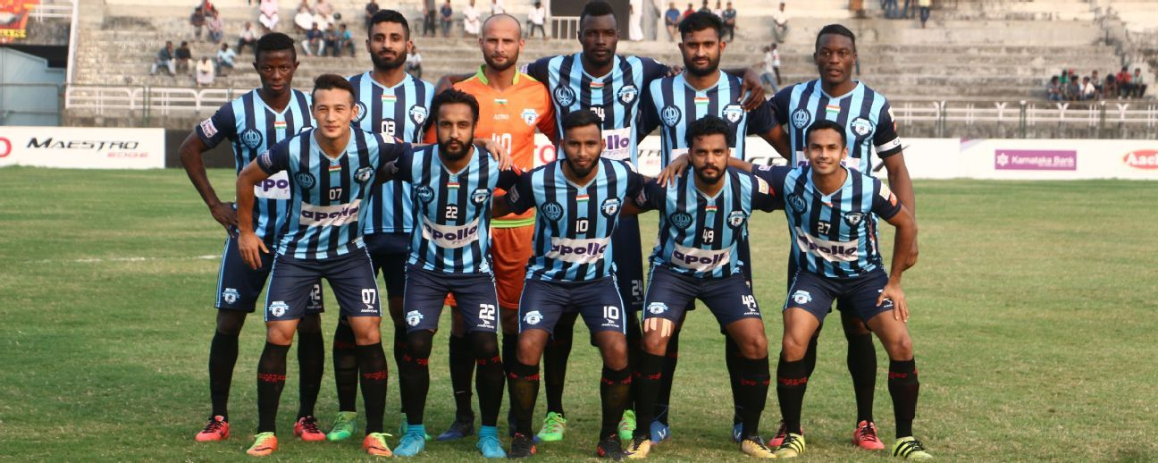 With five wins in seven games, Minerva Punjab are second in the league table for now.