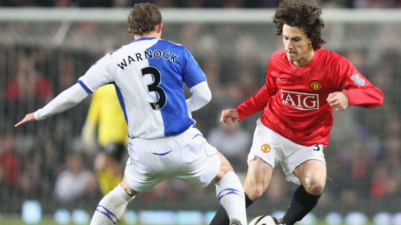 Rodrigo Possebon at Man United in 2008