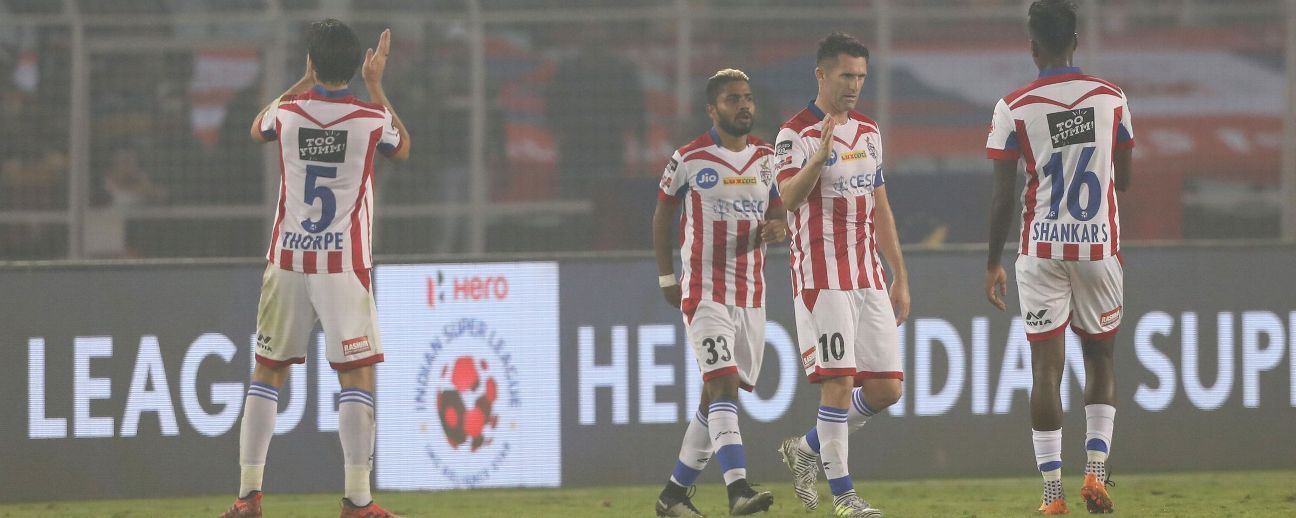 Robbie Keane scored inside four minutes against FC Goa.