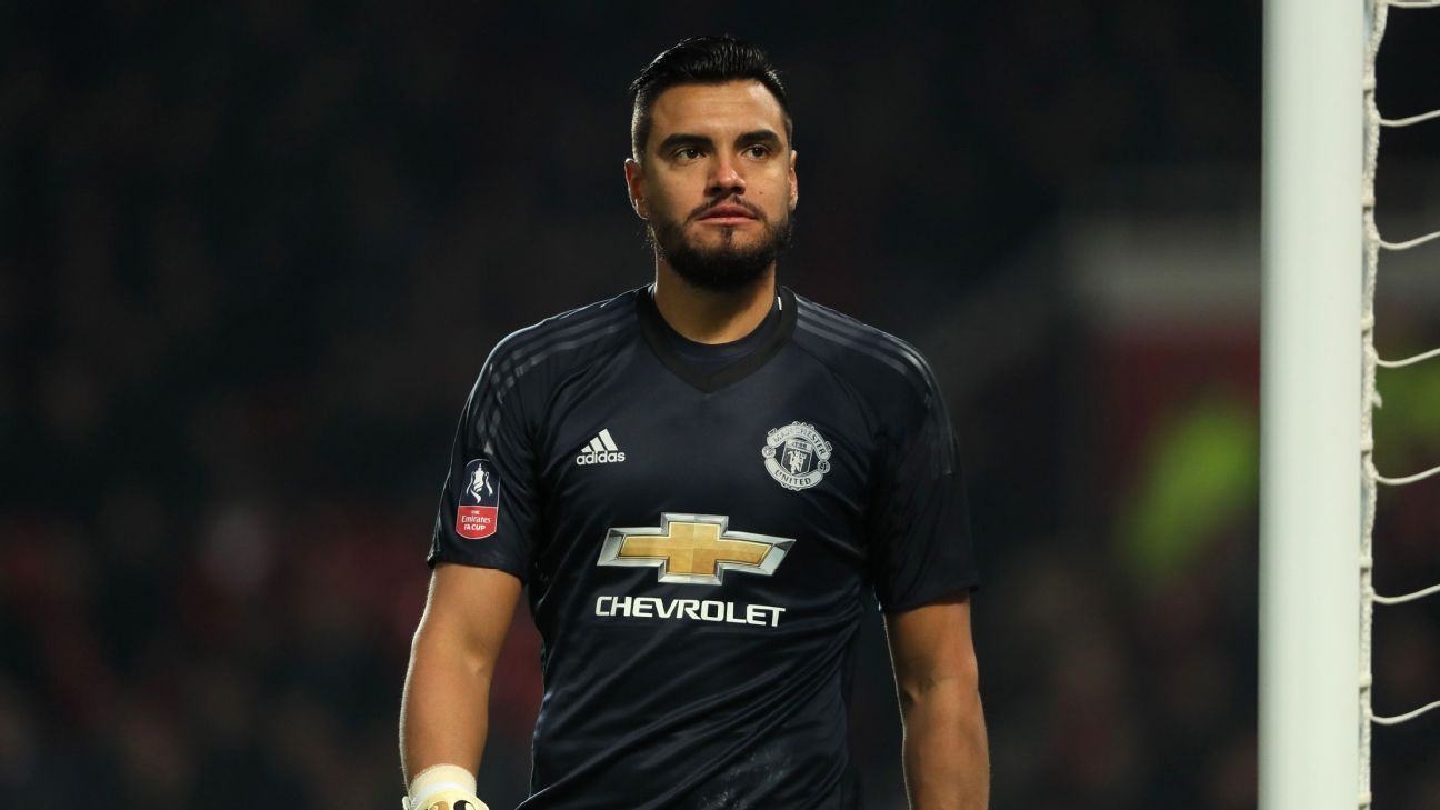 Sergio Romero started for Manchester United in their FA Cup win against Derby County.