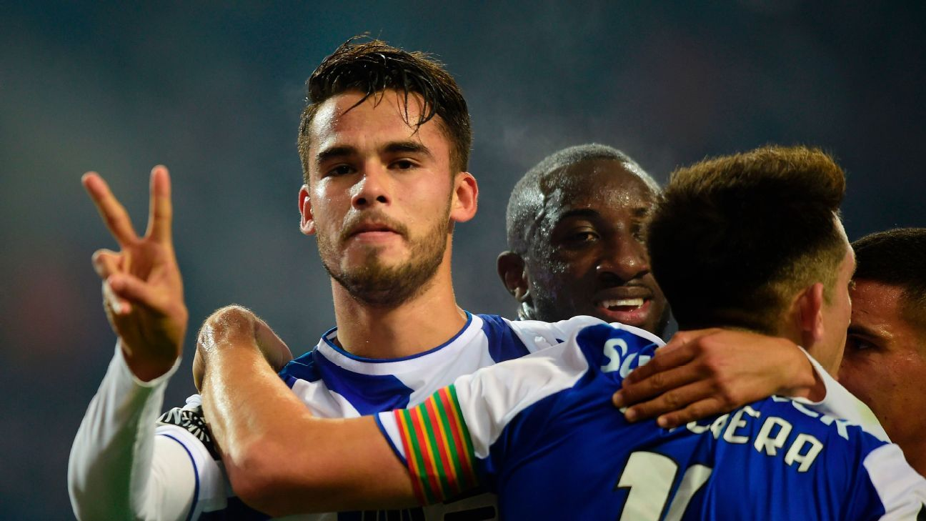 Diego Reyes is enjoying a resurgence at Porto.