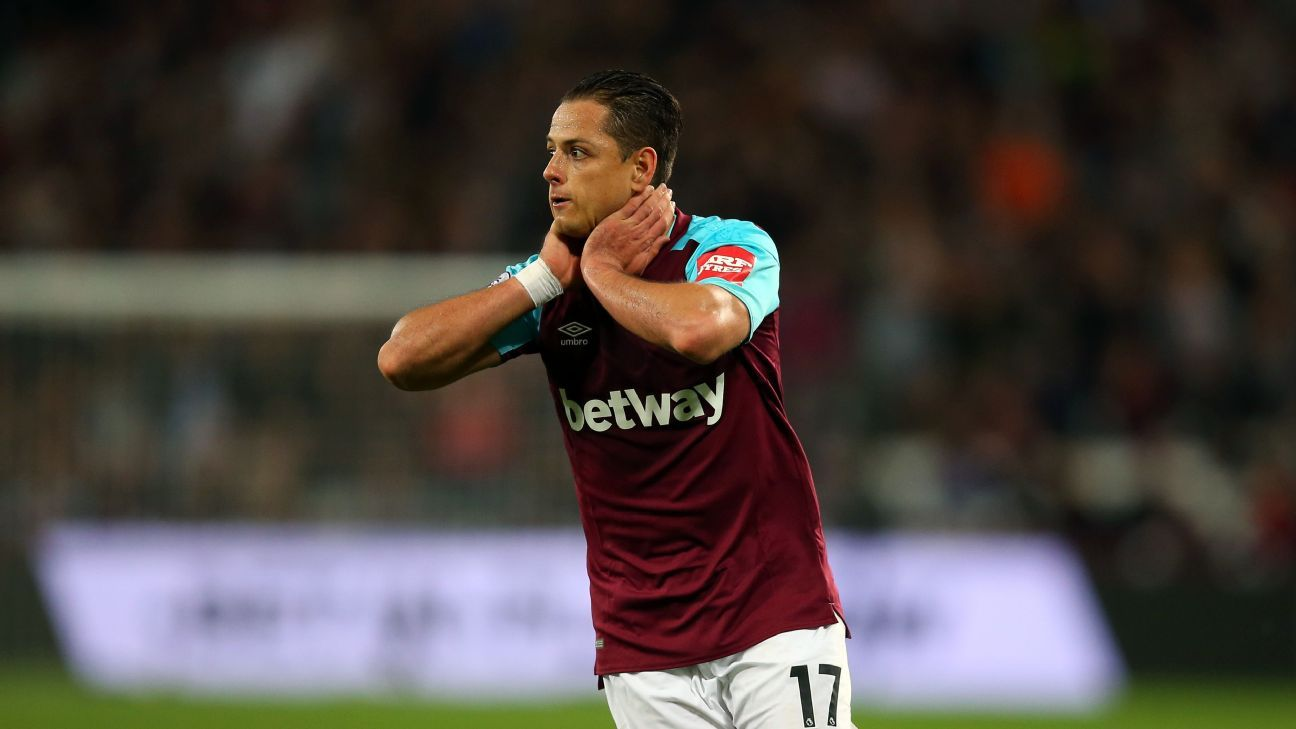 Javier Hernandez's return to England has not gone to plan as of yet.